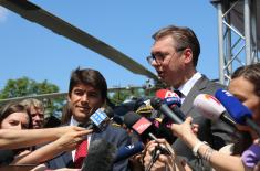 President Vučić: We will have more helicopters than ever before