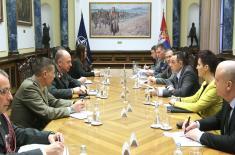 Састанак министра Вулина са генералом Бруксом