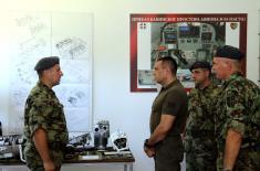 Министар Вулин: Војска Србије ће наставити да улаже у обуку