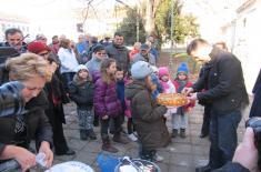 Министар одбране обишао новосадске војне пензионере кориснике привременог смештаја