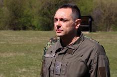 Министар Вулин: Борбена готовост Војске Србије није умањена