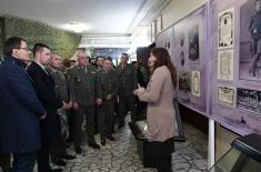 "Exhibition ""Field Marshal Petar Bojovic – a symbol of glory and honour"" in a guest visit to Kraljevo"