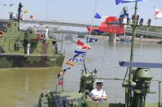 Marked the Day of River Units and Day of River Flotilla