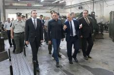"Minister Vulin in ""Krušik"""