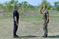"Nenajavljen obilazak ministra odbrane Poligonu ""Peskovi"""