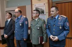 Изузетан допринос систему одбране пуковника Киндјакова