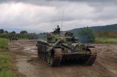 Припреме тенковских посада за учешће на Међународним војним играма
