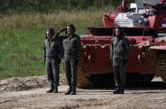 Војска Србије у полуфиналу Тенковског биатлона