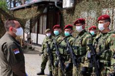 Ministar Vulin u Adaševcima: Ko god pokuša da naruši red i ne poštuje zakon, biće zaustavljen