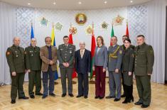 Делегација Управе за односе са јавношћу у посети Белорусији