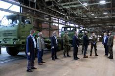 Devet novih kamiona iz FAP-a za Vojsku Srbije