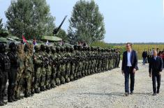 President Vučić: Republic of Serbia has much stronger police and military than in the last 30 years