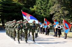 Promotion of new Serbian Armed Forces Non-Commissioned Officers