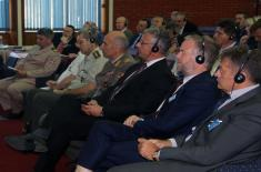 Participants in the NATO Defence College visit Military Academy
