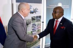 Сусрет државног секретара Живковића са председником Парламента Гане