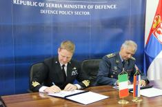 Intensifying cooperation with Italy