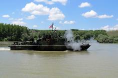 "Tactical exercise ""Ecka 2017"" of River Flotilla"