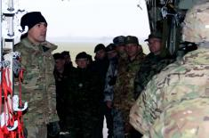 "Preparations for the Execution of Exercise ""Winter 2017"""