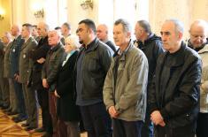 Ministar Vulin: Ministarstvo odbrane i Vojska Srbije brinu o svojim pripadnicima