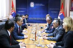 Minister of Defence meets with Minister of Foreign Affairs of Venezuela