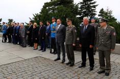 President of the Republic of Armenia laid a wreath at the Monument to the Unknown Hero on Mt. Avala