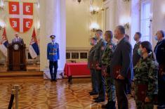 Министар Вулин: Србија је бескрајно поносна на припаднике Министарства одбране и Војске Србије