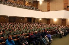 Предавање председника Олимпијског комитета Србије на Војној академији