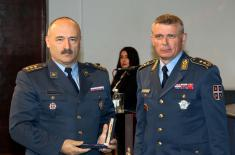 Memorial Medals Presented to the Members of the 126th Brigade of Air Surveillance, Early Warning and Guidance
