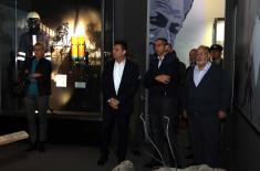 "Minister of Defense of Cyprus Angelides visits ""Defense 78"" Exhibition"