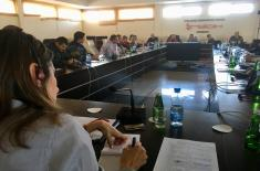 """The second day of the Regional Public Relations Conference """"Media, Peace Operations and the Migrant Crisis"""""""