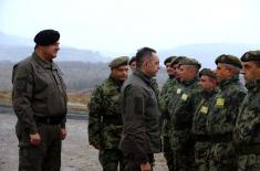 Minister Vulin: All members of the Serbian Armed Forces are prepared and motivated for every task