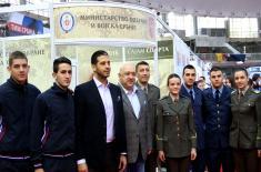 Ministarstvo odbrane i Vojska Srbije na Sajmu sporta