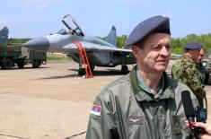 Министар Вулин: Наше небо је сигурно и ми га чувамо сами