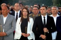"Remembrance Day of all Killed and Expelled Serbs in the Military Action ""Storm"""