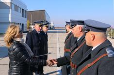 The Day of 204th Air Force Brigade marked