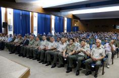 Ispraćaj kontingenta Vojske Srbije u mirovnu operaciju MINUSCA