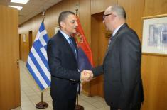 Pomoćnik ministra odbrane u poseti Grčkoj