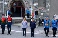 Копија Заставе победе од данас у Војном музеју