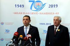 """Preduzeće """"Milan Blagojević - Namenska"""" obeležilo 70 godina postojanja"""