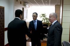 Пријем новоизабраног амбасадора Египта