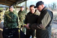 Minister Vulin: The Serbian Armed Forces are ready for the challenges due to the intelligence and knowledge they possess