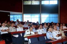 Посета делегације Здруженог штабног курса Оружаних снага Краљевине Шпаније