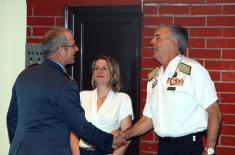 Poseta delegacije Združenog štabnog kursa Oružanih snaga Kraljevine Španije