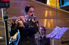 Други концерт кадета Војне академије на Тргу Републике