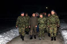 Министар Вулин: Србија је мирна, сигурна, чувана и заштићена док је ту њена војска