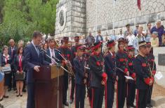 Министар Вулин на обележавању 102. годишњице од повлачења српске војске на острво Крф