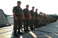 Gold for a Sniper of the Serbian Armed Forces