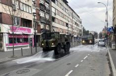 Angažovanje jedinica ABHO Vojske Srbije u borbi protiv Covid–19