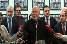 Ministar Vulin: Stidimo se u ime velikog sveta jer nisu doneli pravdu na KiM
