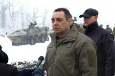 Minister Vulin: New Fighting Vehicle in the Serbian Armed Forces after 30 years